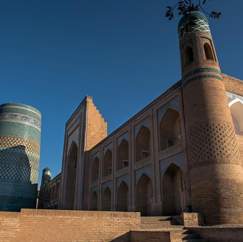 Mohammed Amin Khan medresze, Khíva, Üzbegisztán