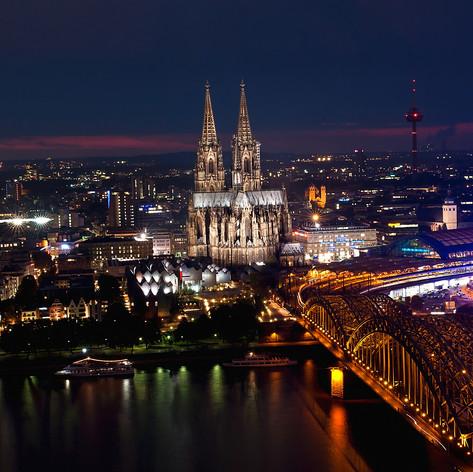 Esti látkép, Köln, Németország