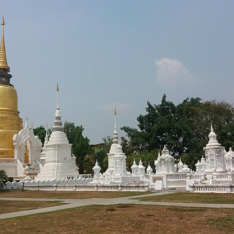 Wat Suan Templom, Chiang Mai, Thaiföld