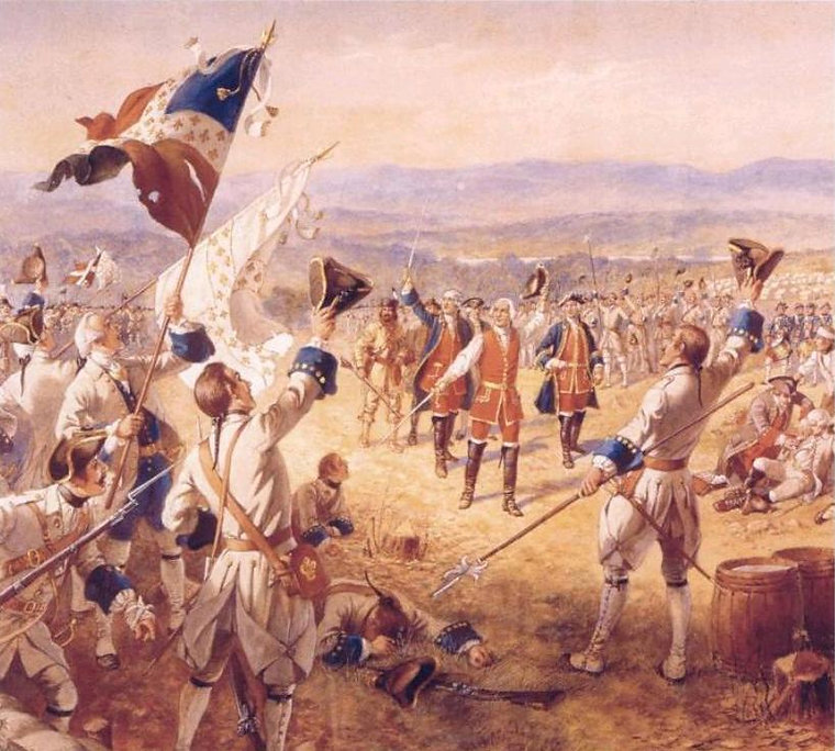 The_Victory_of_Montcalms_Troops_at_Caril