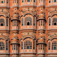 Hawa Mahal, a Szelek Palotája, Jaipur, India
