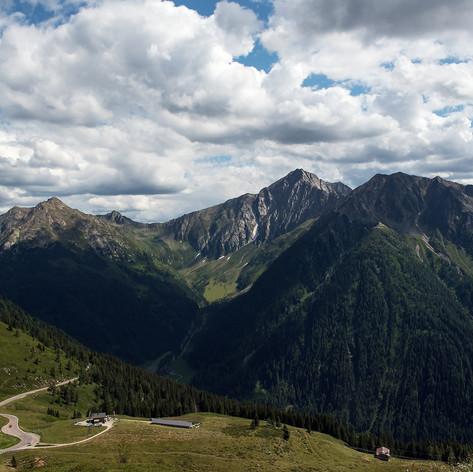A Jaufenpass (Jaufen hágó) Dél-Tirolban. Olaszország (33/2019)