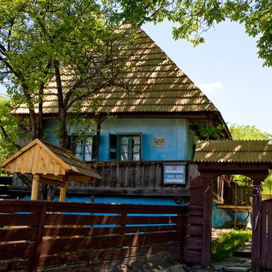 Tamási Áron háza