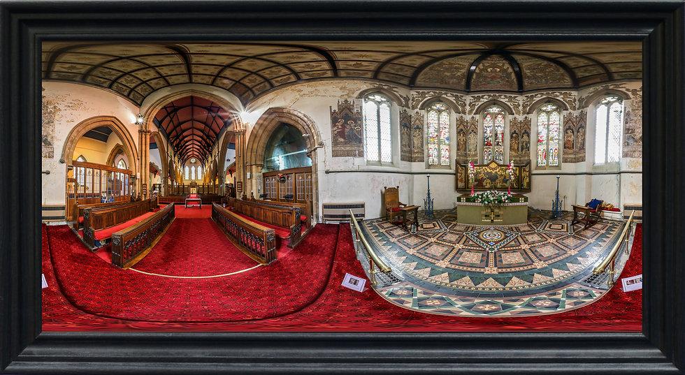 """St James' Church, New Brighton"" by Nadia Parsons"