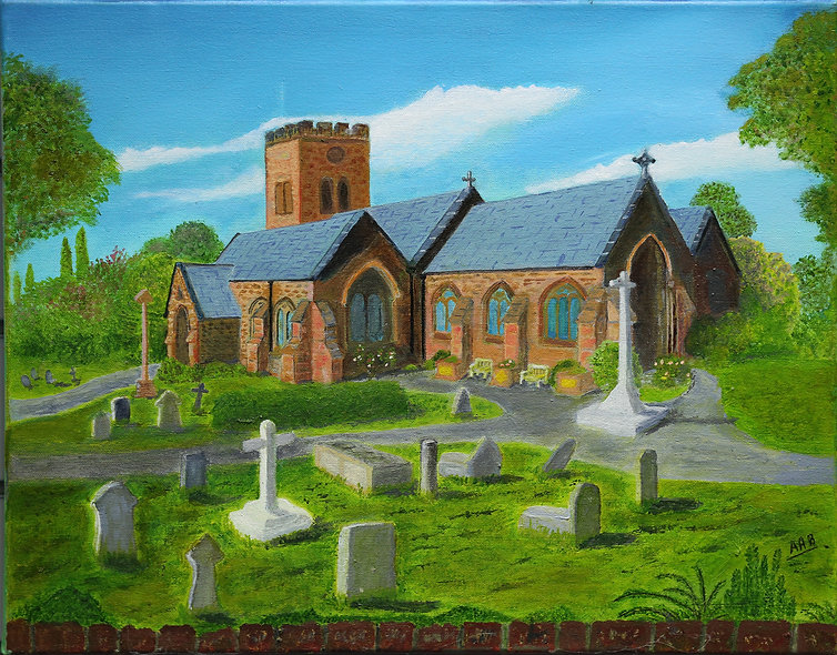 """St Bridget Parish Church"" by Anthony Barrington"
