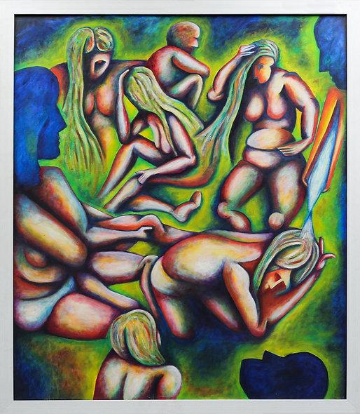 """The Bathers / The Voyeurs"" by Charlie Frais"