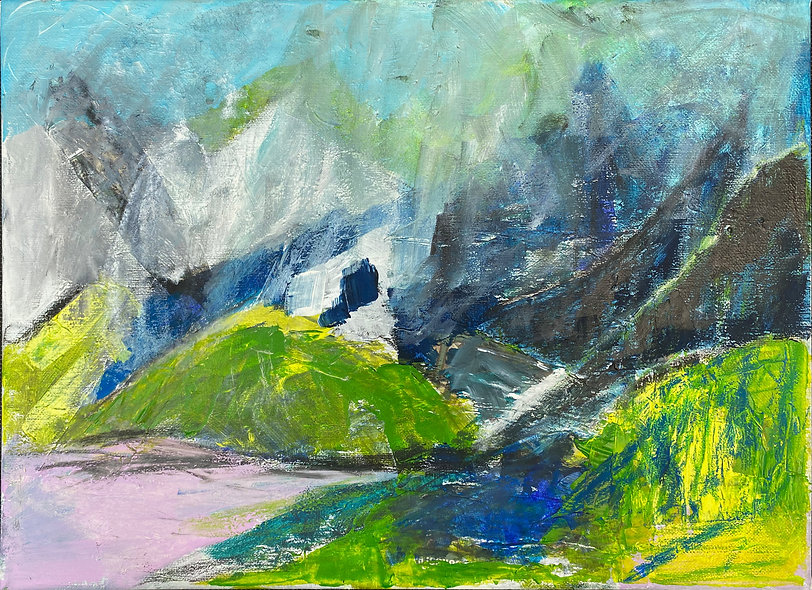 """Mountain Splendour"" by Julie Campbell"