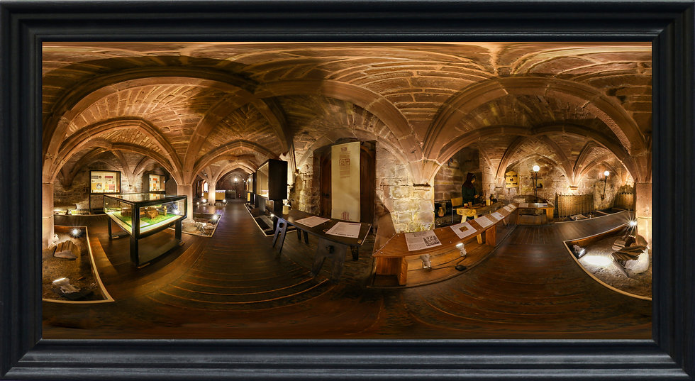 """Museum, Birkenhead Priory"" by Nadia Parsons"