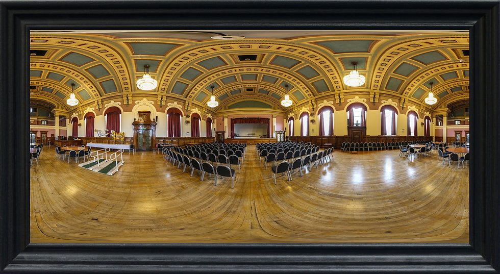 """Wallasey Town Hall Big Hall"" by Nadia Parsons"