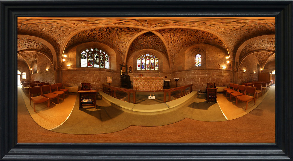 """Chapter House, Birkenhead Priory"" by Nadia Parsons"