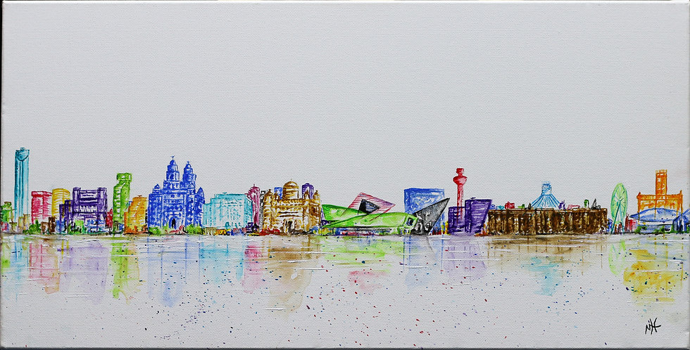 """""""Liverpool Waterfront"""" by Mo Hawthorn"""