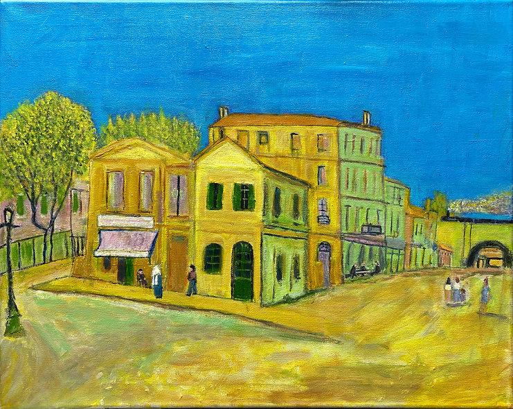"""Yellow House"" by David Eisen"