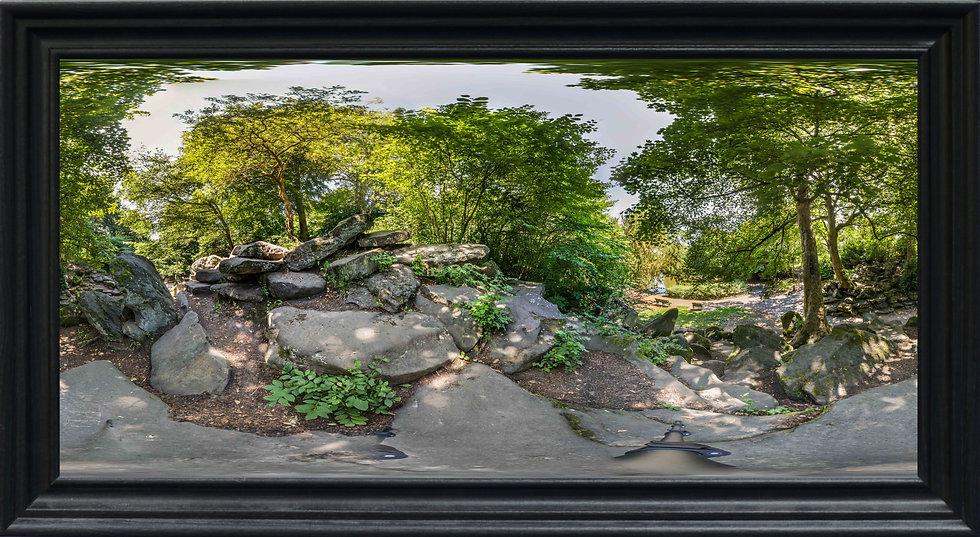 """""""The Rockery, Birkenhead Park"""" by Nadia Parsons"""