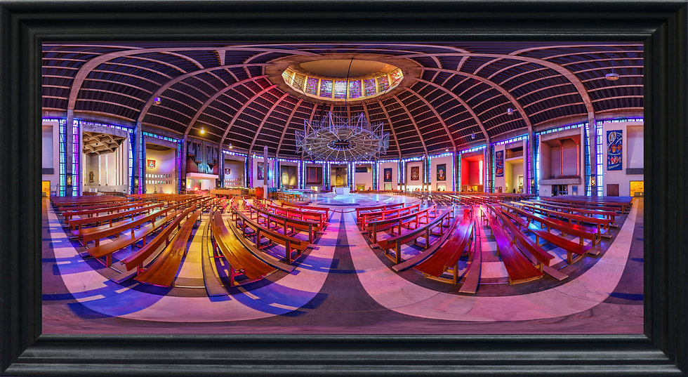 """""""Liverpool Metropolitan Cathedral"""" by Nadia Parsons"""