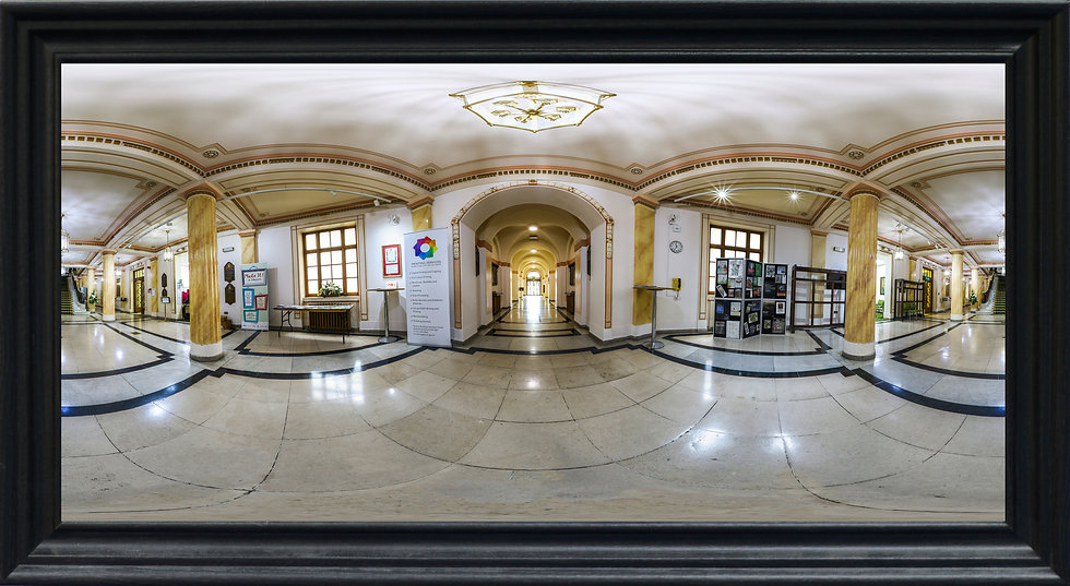 """Wallasey Town Hall Entrance"" by Nadia Parsons"