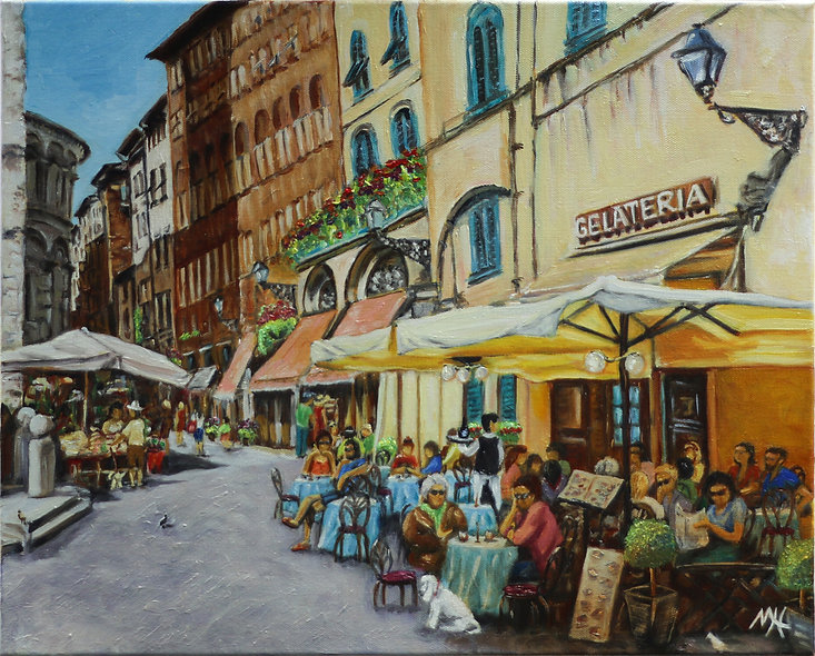 """""""Lucca"""" by Mo Hawthorn"""
