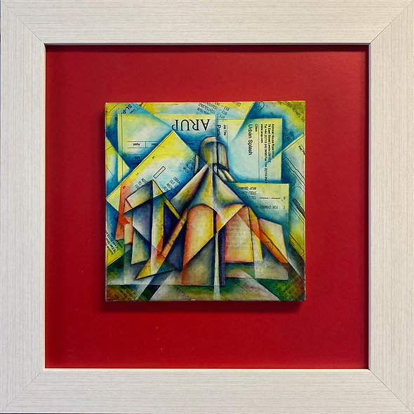 """""""Architectural Deconstruction of the Cathedral"""" by Charlie Frais"""