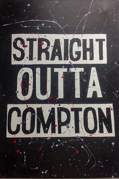 """Straight Outta Compton"" by Nathan Haberla"