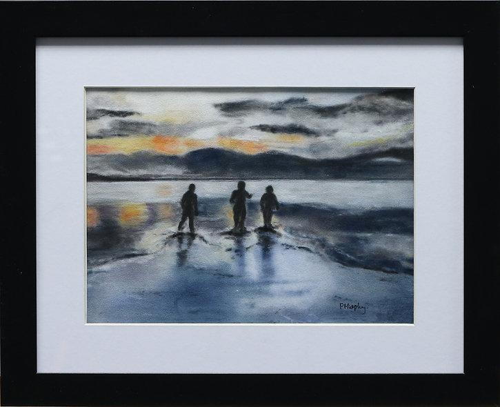 """Infinity - Red Cap Sea Swimmers"" by Pauline Murphy"
