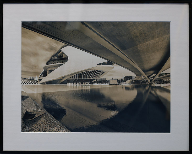 """Valencia City of Arts and Sciences 4"" by Cristina Pascu-Tulbure"