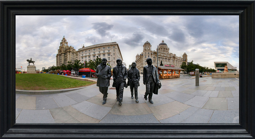 """""""The Beatles Statue"""" by Nadia Parsons"""