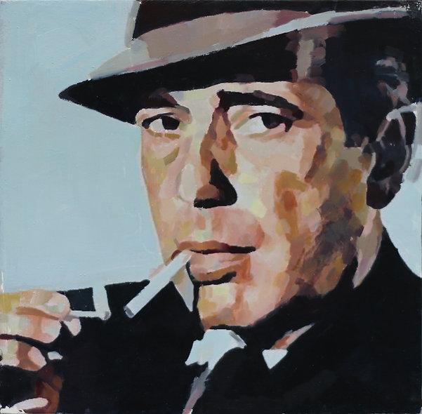 """Humphrey Bogart"" by Simon Miller"