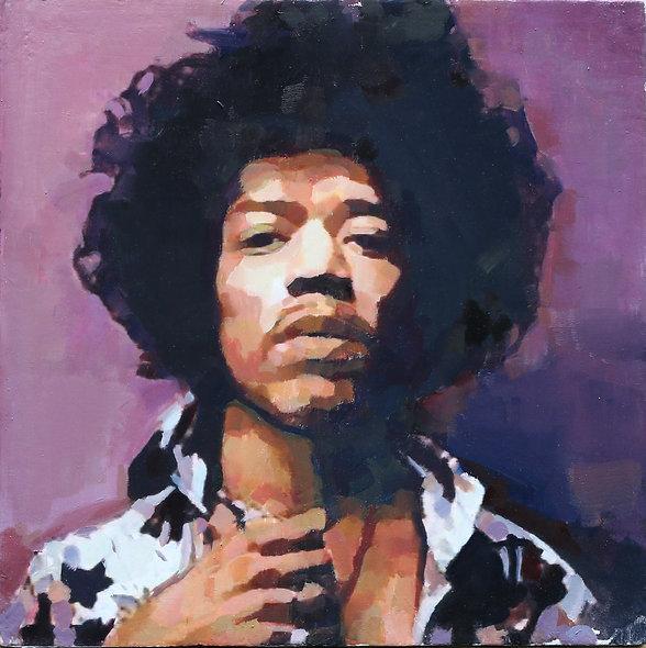 """""""Hendrix"""" by Simon Miller"""