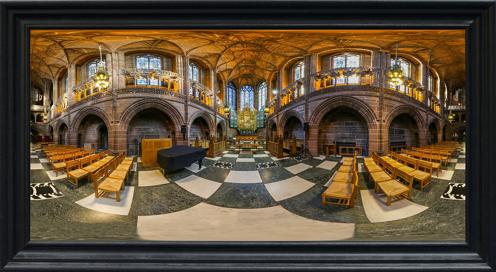 """Lady Chapel, Liverpool Cathedral"" by Nadia Parsons"