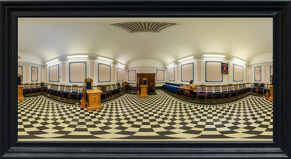 """Clifton Road Masonic Lodge 2"" by Nadia Parsons"