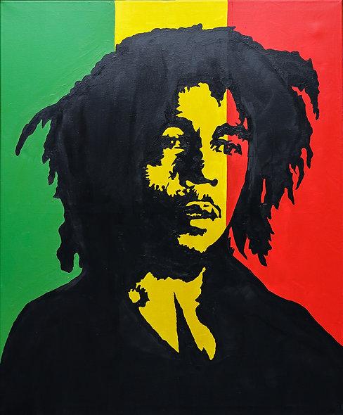 """""""Bob Marley 2"""" by Nathan Haberla"""