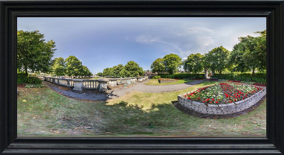 """""""Port Sunlight Memorial Gardens"""" by Nadia Parsons"""