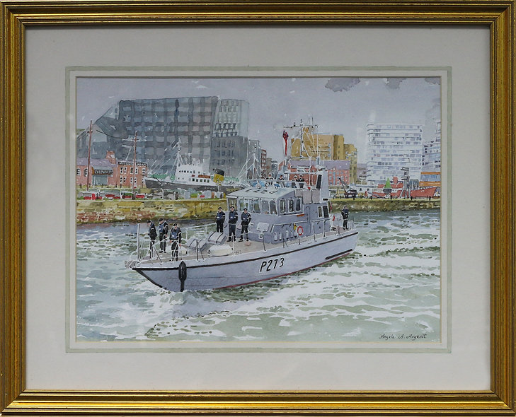 """Battle of Atlantic Anniversary Parade No 2"" by Angela Argent"