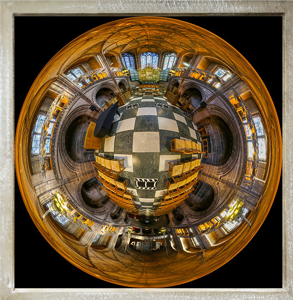 """Lady Chapel Sphere"" by Nadia Parsons"