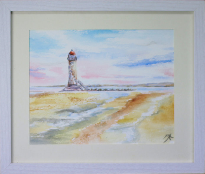 """Point of Ayr"" by Mo Hawthorn"