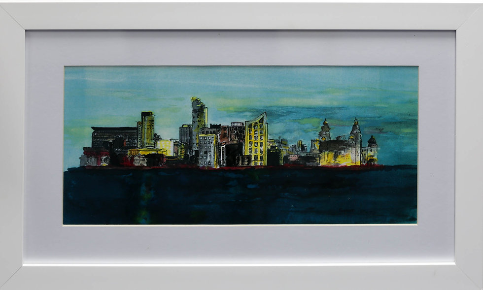 """""""Liverpool Waterfront"""" by Pauline Murphy"""
