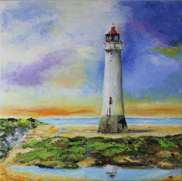 """Lighthouse 2"" by Mo Hawthorn"