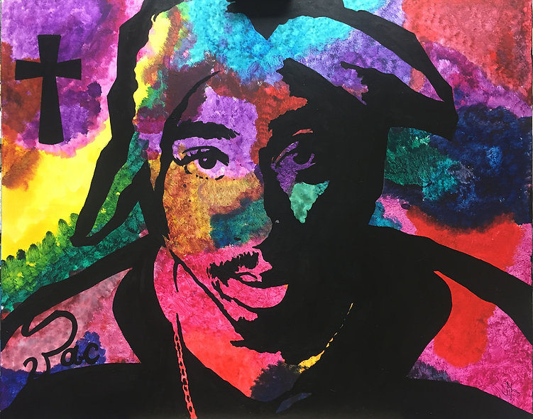 """2 Pac"" by Nathan Haberla"