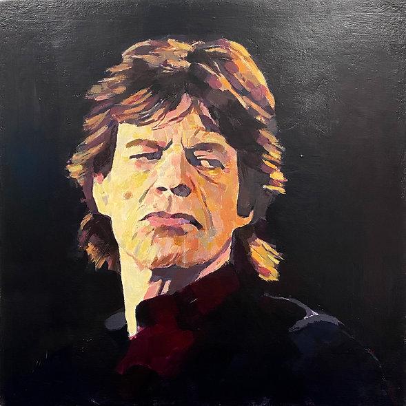 """Mick Jagger"" by Simon Miller"