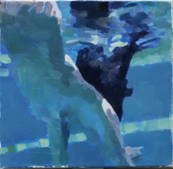 """""""Swimmers 7"""" by Simon Miller"""
