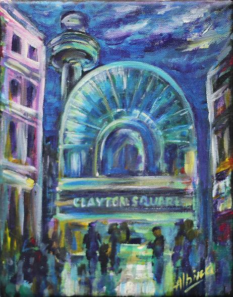 """""""Clayton Square"""" by Albina Kumirova"""