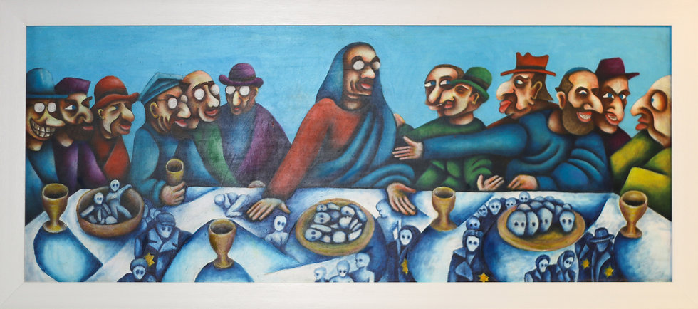 """The Last Supper (Who's paying!?...)"" by Charlie Frais"