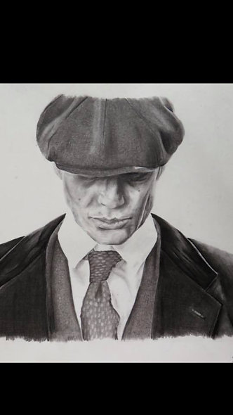 """Thomas Shelby - Peaky Blinders"" by Jasmine Ralph"