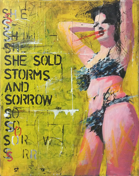 """She sold Storms and Sorrow 2"" by Nick Beedles"