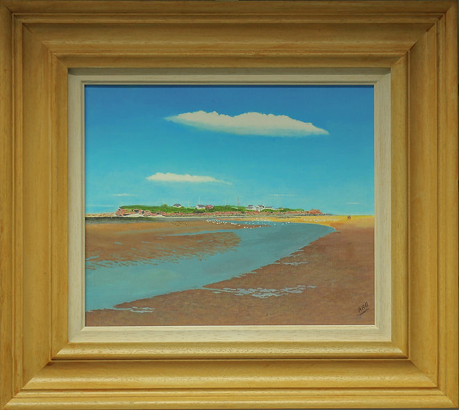 """Hilbre Island"" by Anthony Barrington"