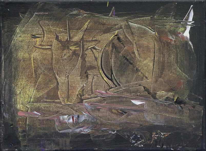 """On a Plain"" by Nigel Leslie"