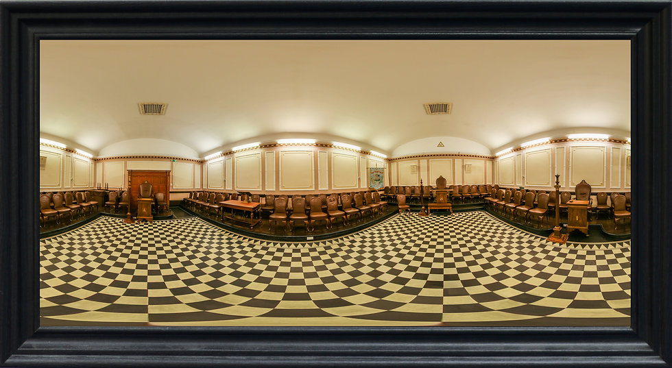 """Clifton Road Masonic Lodge 1"" by Nadia Parsons"