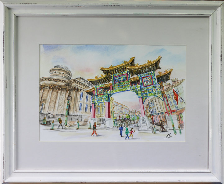 """""""Chinatown"""" by Mo Hawthorn"""