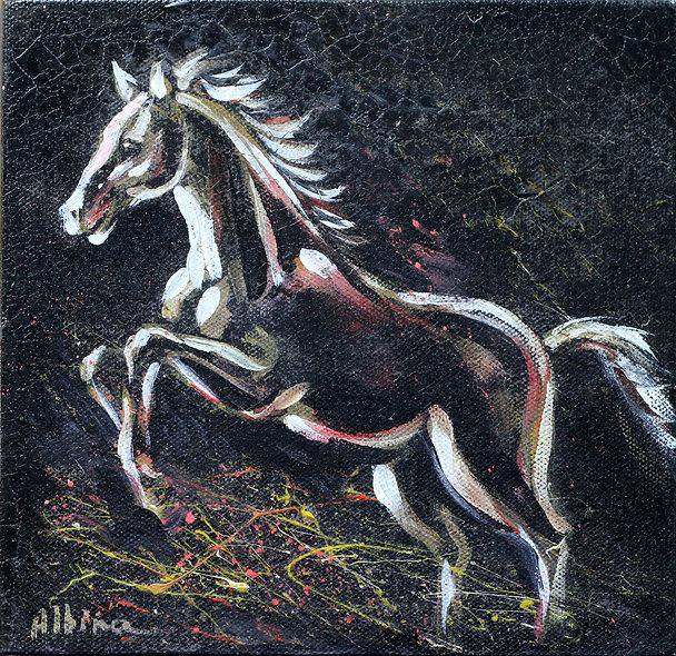 """""""Horse 1"""" by Albina Kumirova"""