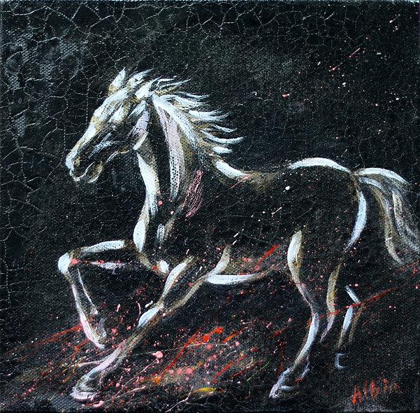 """""""Horse 4"""" by Albina Kumirova"""