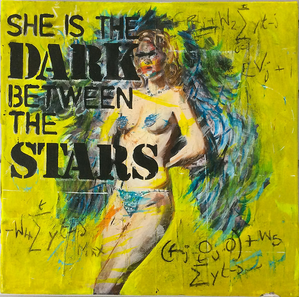 """She is the Dark between the Stars"" by Nick Beedles"